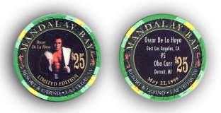 Oscar De La Hoya vs. Oba Carr