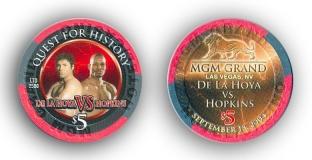 Oscar De La Hoya vs. Hopkins